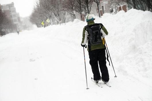 不用去滑雪場也能滑雪的難得經驗