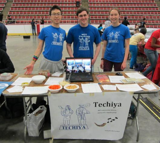 Techiya社團攤位