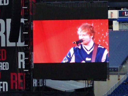 Ed Sheeran滿可愛的