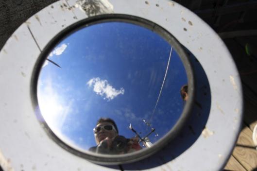 不用懷疑,這就只是一面鏡子,沒有任何氣象觀測功能...