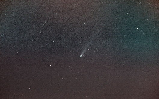 11/19的艾桑彗星,預估亮度約有4.0-4.5等星。