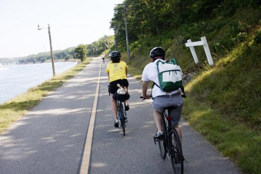 鱈魚角運河南岸單車道