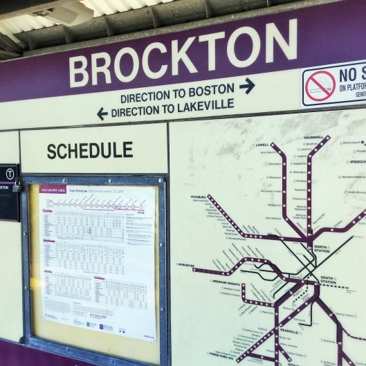 Brockton車站