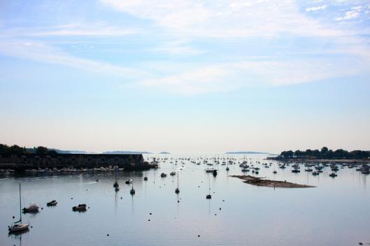 橋頂俯瞰海港風景(去年六月舊照)