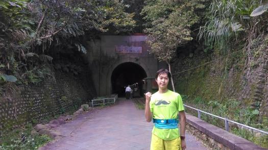 山路LSD跑到慈湖,途中舊百吉隧道口
